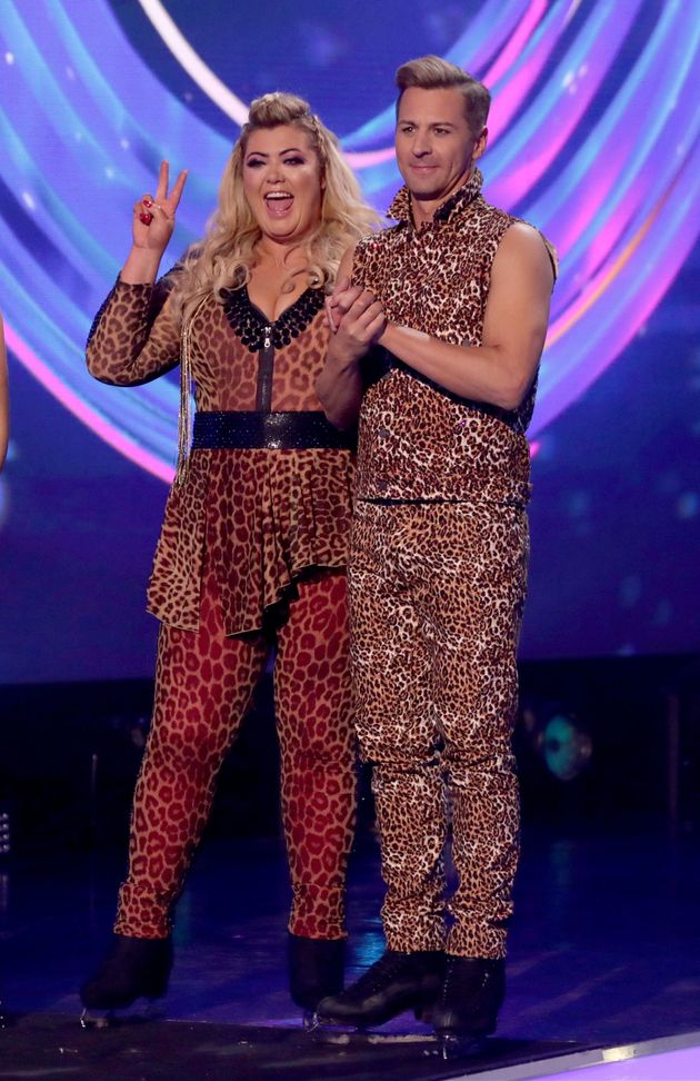 Gemma Collins has been voted off Dancing On