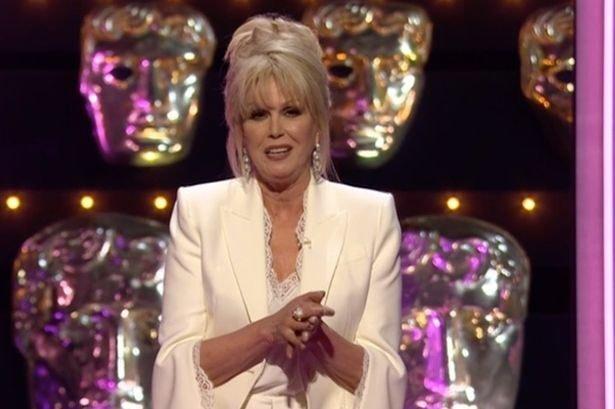 Joanna Lumley's jokes failed to raise many laughs at the