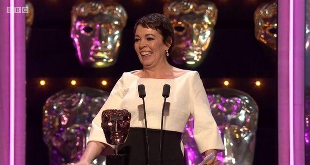 Olivia Colman won Best Actress at the Baftas