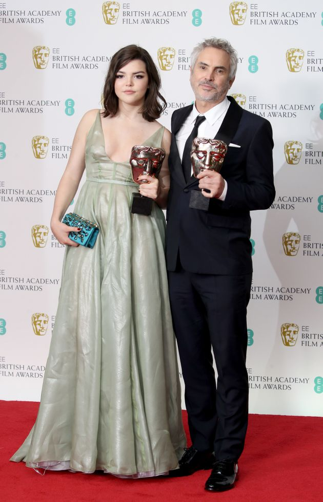 Roma was named Best Film at the Baftas