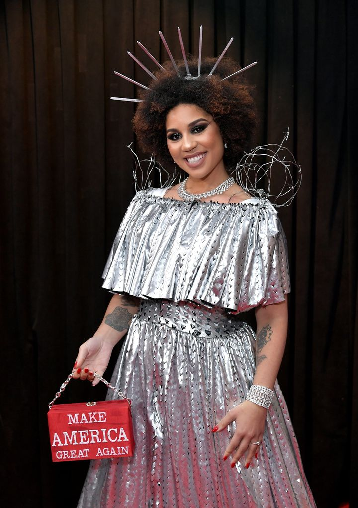 Joy Villa attends the 61st Annual Grammy Awards at the Staples Center on Feb. 10 in Los Angeles.