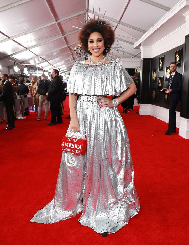 Joy Villa attends the 2019 Grammy Awards at Staples Center on Feb. 10 in Los Angeles.