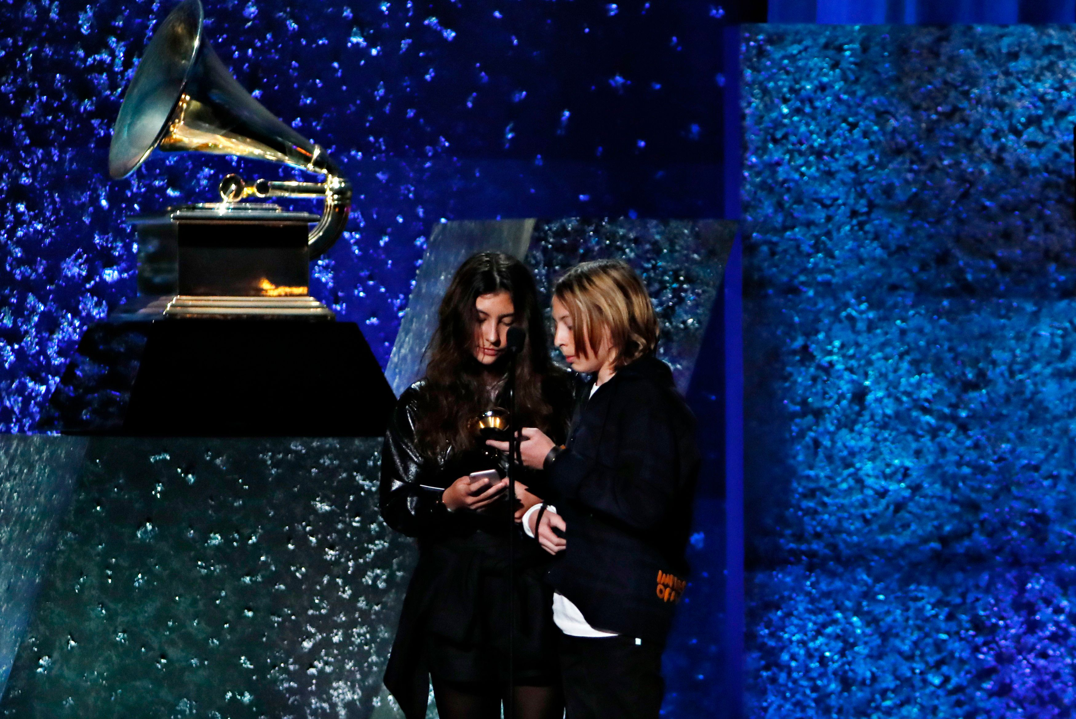 Grammys 2019: Chris Cornell's children accept posthumous award