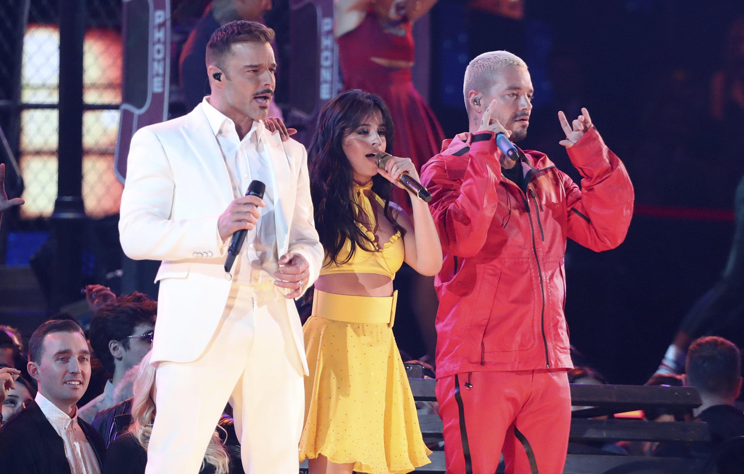Camila Cabello, Ricky Martin And J Balvin Open 2019 Grammys With Retro-Styled Latin