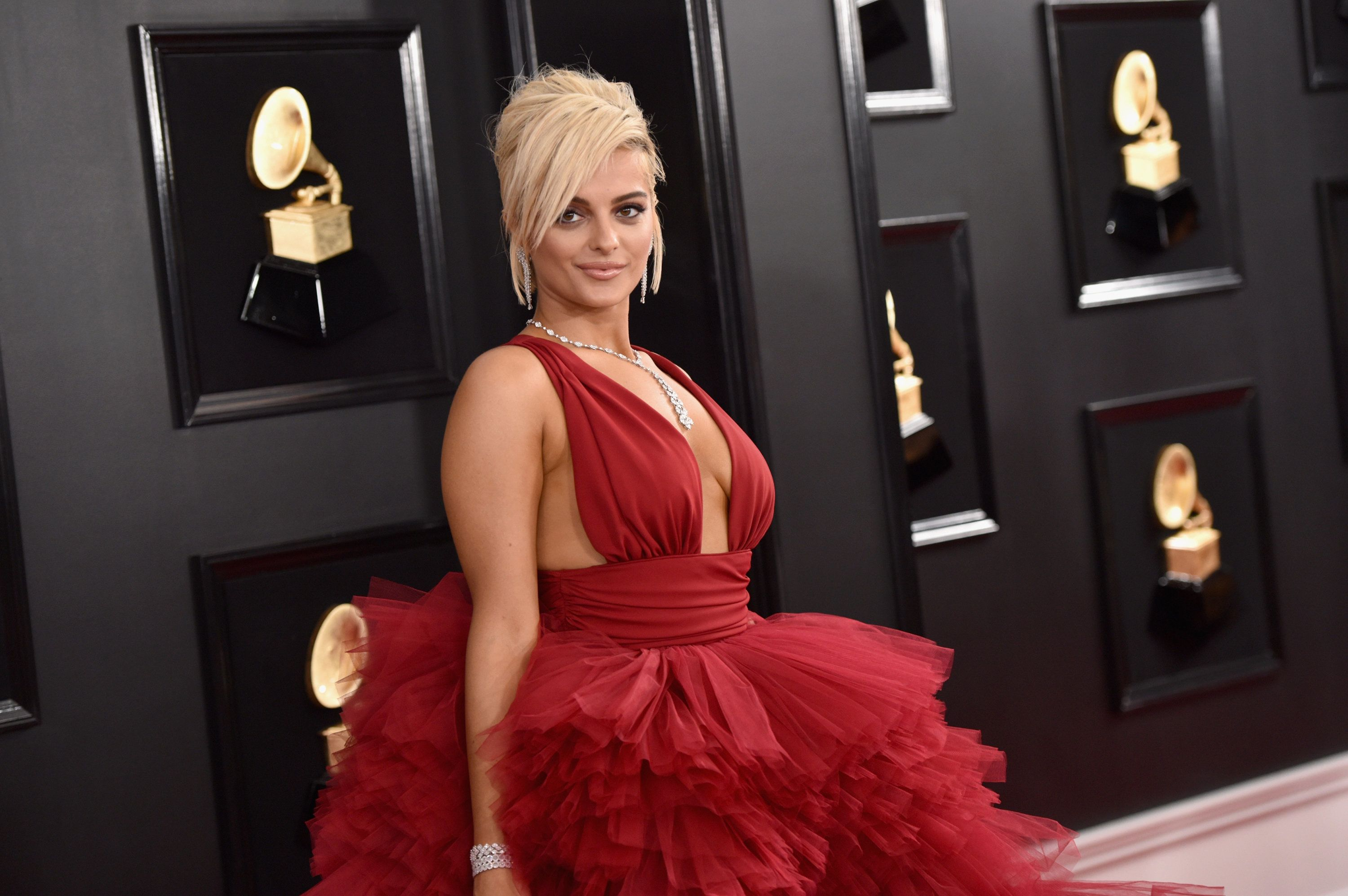 LOS ANGELES, CA - FEBRUARY 10:  Bebe Rexha attends the 61st Annual GRAMMY Awards at Staples Center on February 10, 2019 in Los Angeles, California.  (Photo by John Shearer/Getty Images for The Recording Academy)