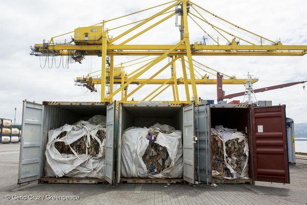 이번에 한국으로 반송된 플라스틱 쓰레기는 불법 수출된 플라스틱 쓰레기 총 6500톤 중 민다나오 국제 컨테이너 터미널에 압류돼 있던 51개 컨테이너