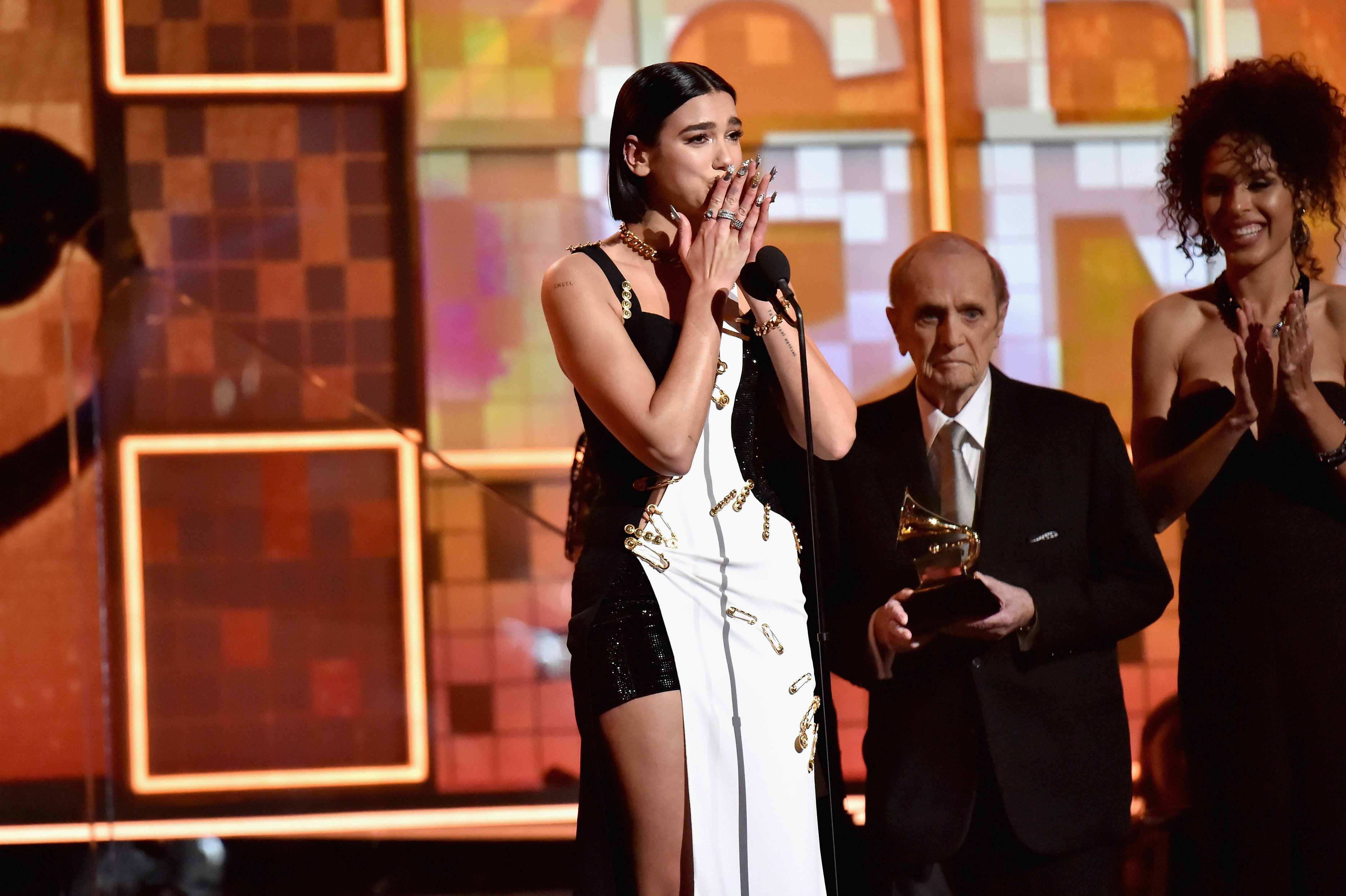 Did You Spot Dua Lipa's Subtle Grammys Shade After Being Named Best New