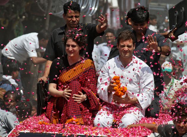 Congress Makes Elaborate Arrangements In UP For 'Grand Welcome' To Priyanka,