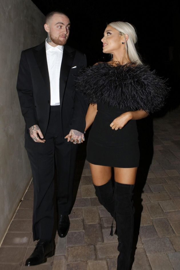 Mac Miller and Ariana Grande, pictured together last