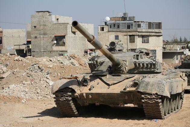 Η μείωση της στρατιωτικής παρουσίας των ΗΠΑ οδήγησε σε αύξηση του εξοπλισμού στη Μέση