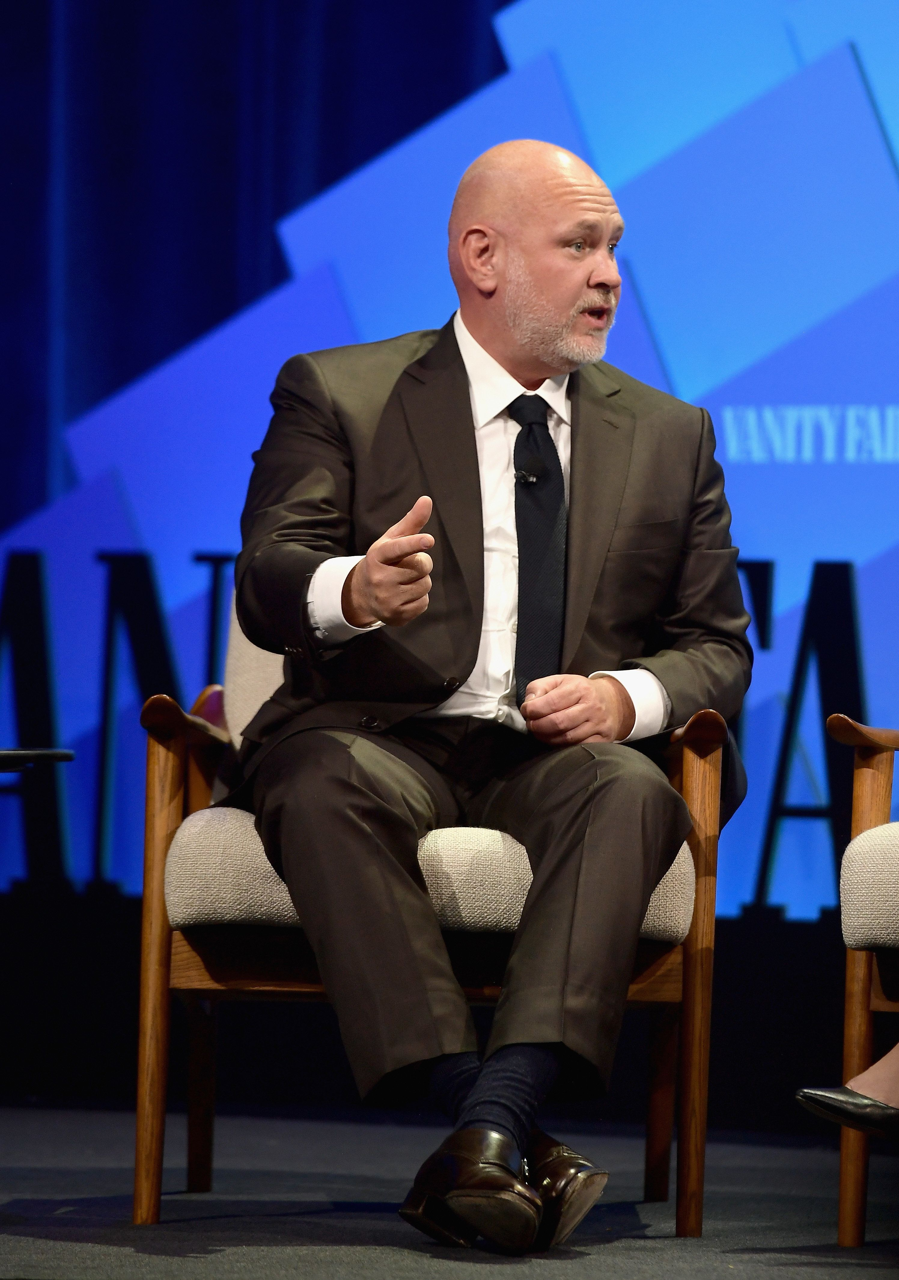 BEVERLY HILLS, CA - OCTOBER 09:  Political Analyst at NBC, Steve Schmidt speaks onstage at Day 1 of the Vanity Fair New Establishment Summit 2018 at The Wallis Annenberg Center for the Performing Arts on October 9, 2018 in Beverly Hills, California.  (Photo by Matt Winkelmeyer/Getty Images)