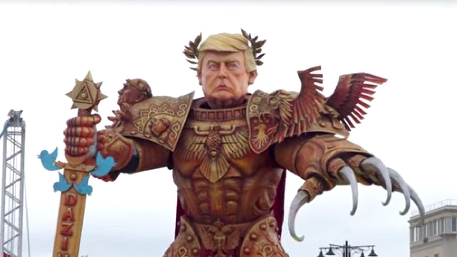 Massive And Terrifying 'God Emperor Trump' Presides Over