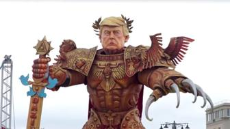 Donald Trump Italian Parade Float