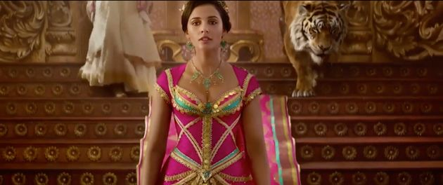 Naomi Scott's role as Jasmine has attracted