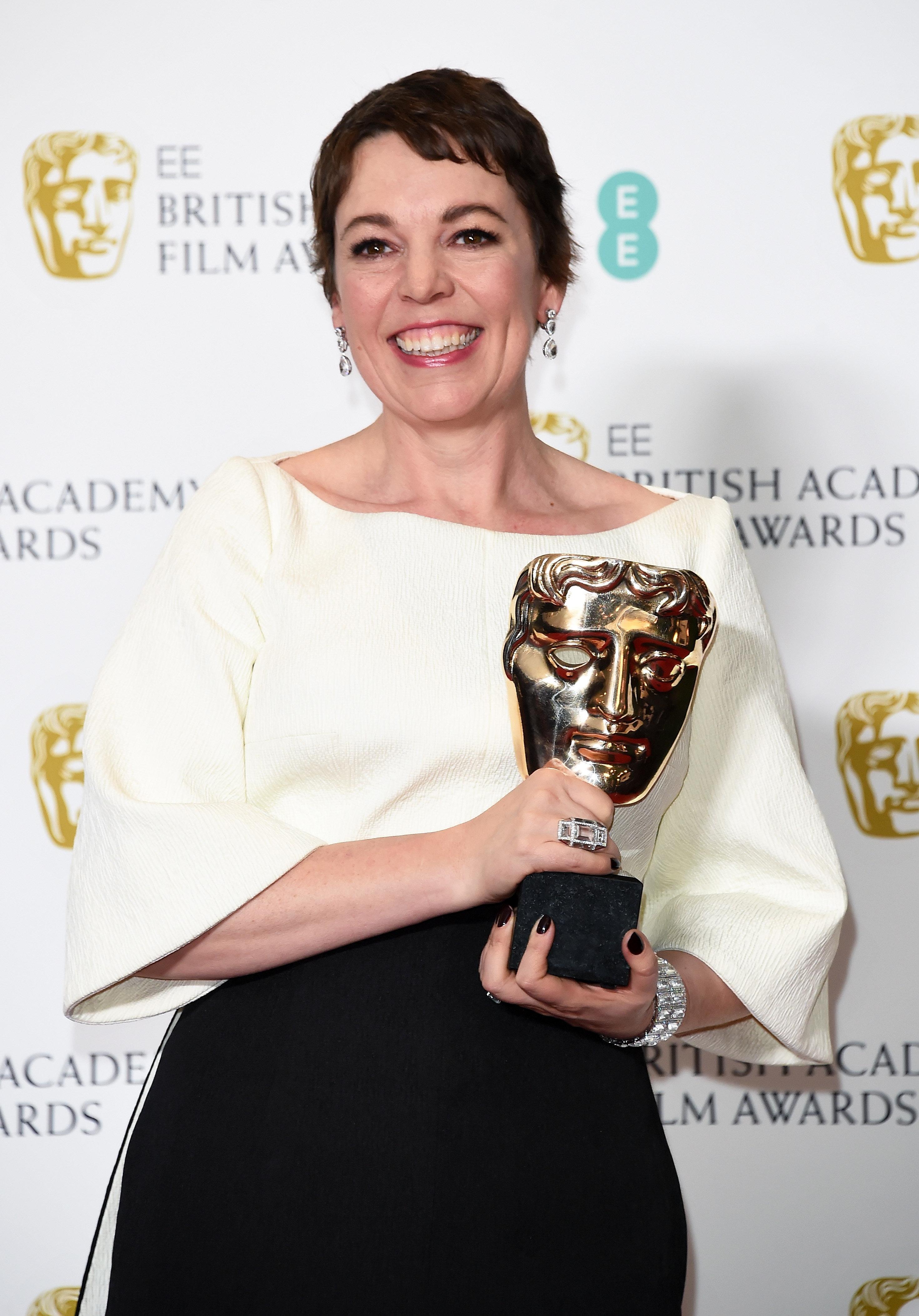 Olivia Colman And Rachel Weisz's BAFTAs Love-In Was 100% Female