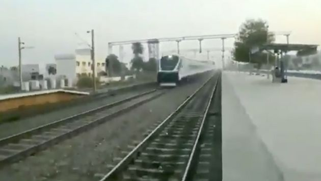 India's Railway Minister Shares Video Of 'High Speed' Train And Gets Savagely