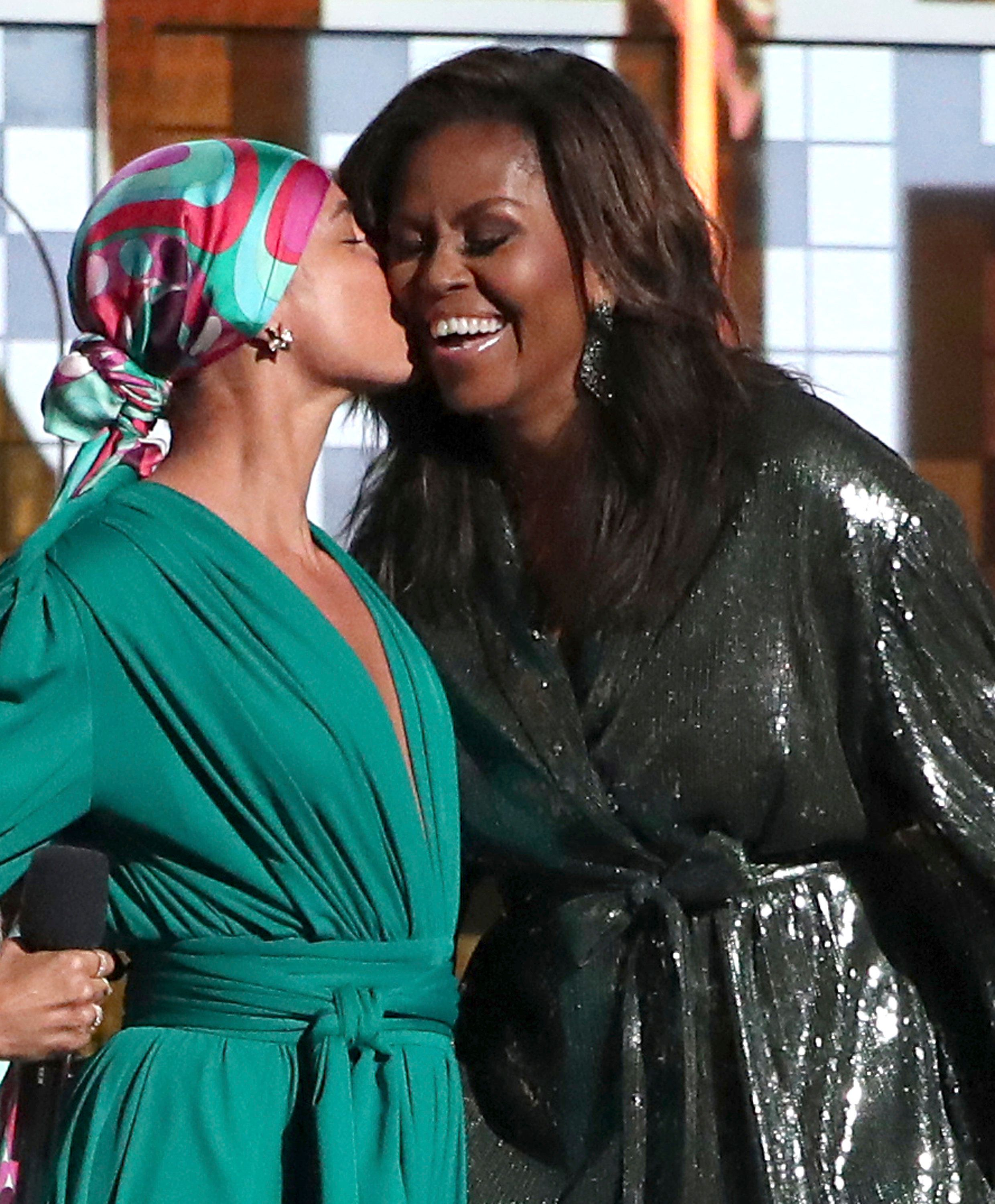 Michelle Obama's Surprise Grammy