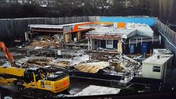 This Is Now All That Remains Of The Big Brother House As Demolition Is Revealed In New
