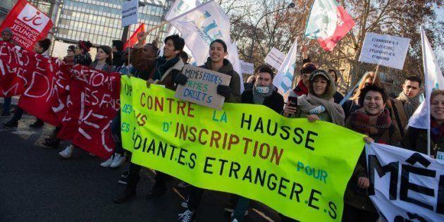 Hausse des frais d'inscription pour les étrangers: certaines universités françaises pourraient les