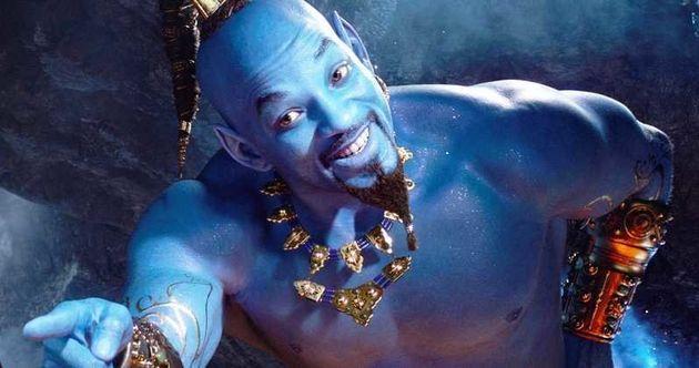 """""""Eu falei que eu seria azul. Vocês precisam confiar mais em mim"""", disse o ator em sua..."""