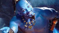 Trailer de 'Aladdin' mostra Will Smith azul, e parece que o público não ficou