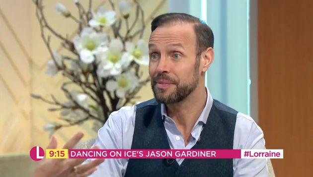 Jason Gardiner appeared on Lorraine on Monday