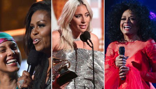 Michelle Obama, Gaga, Dianna Ross e mais: Os 5 melhores momentos do