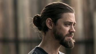 Tom Payne as Paul 'Jesus' Rovia - The Walking Dead _ Season 9, Episode 2 - Photo Credit: Jackson Lee Davis/AMC