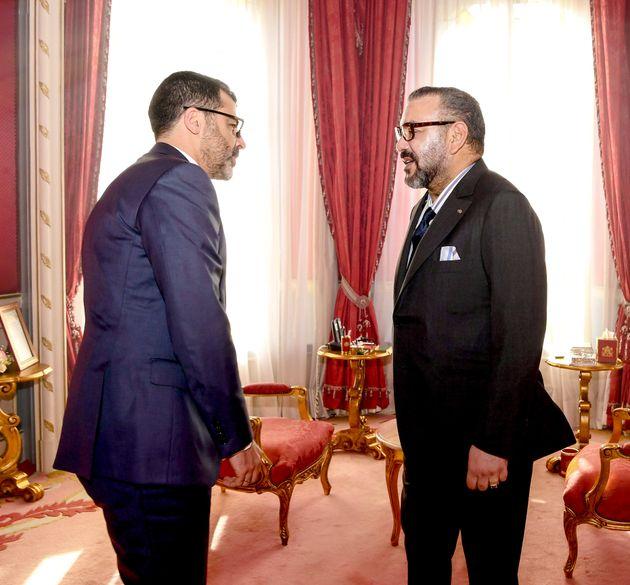 Le roi Mohammed VI reçoit Obaid Amrane, nouveau directeur général du Fonds