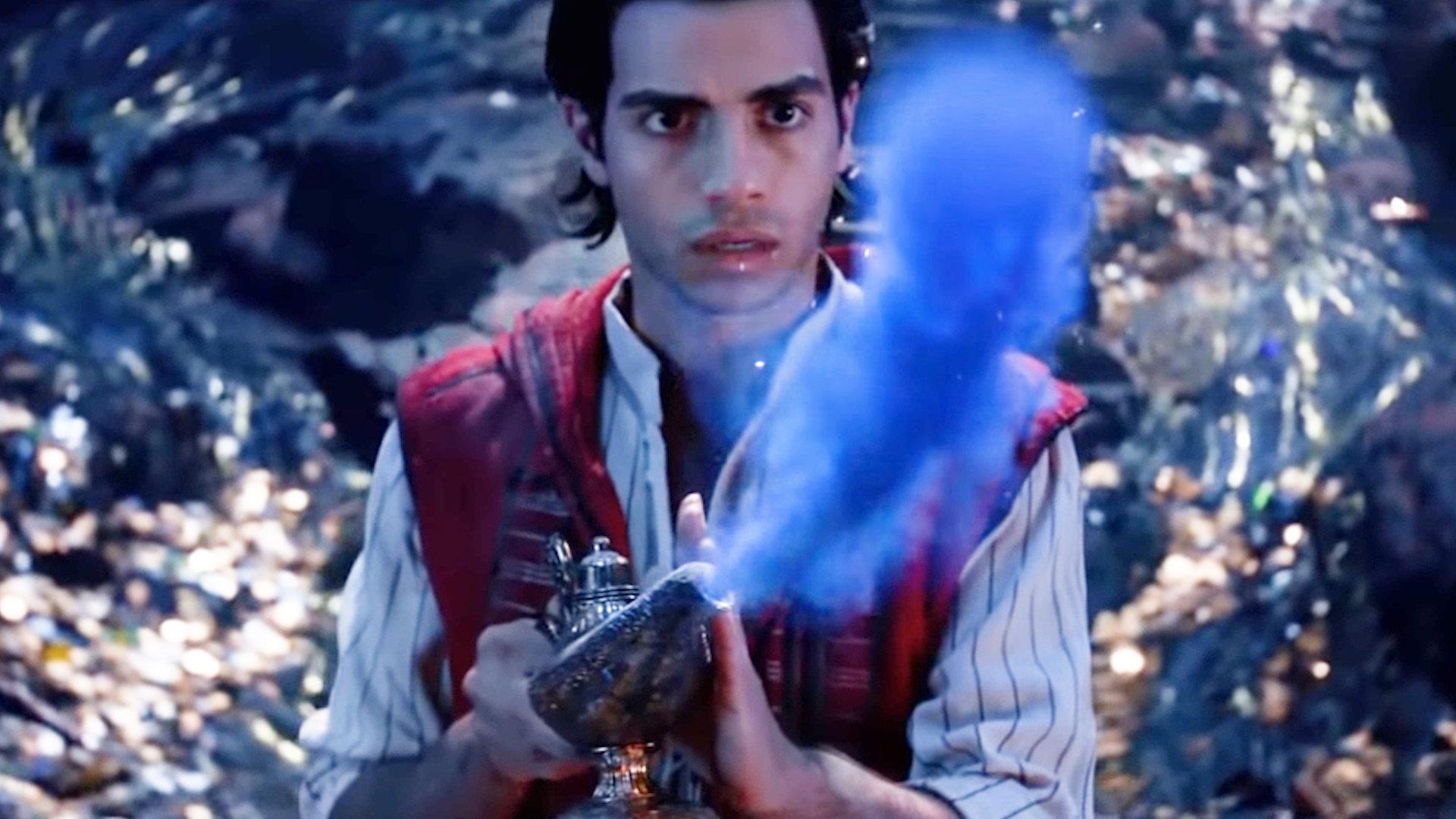 Un nouveau teaser d'Aladdin dévoilé en marge des