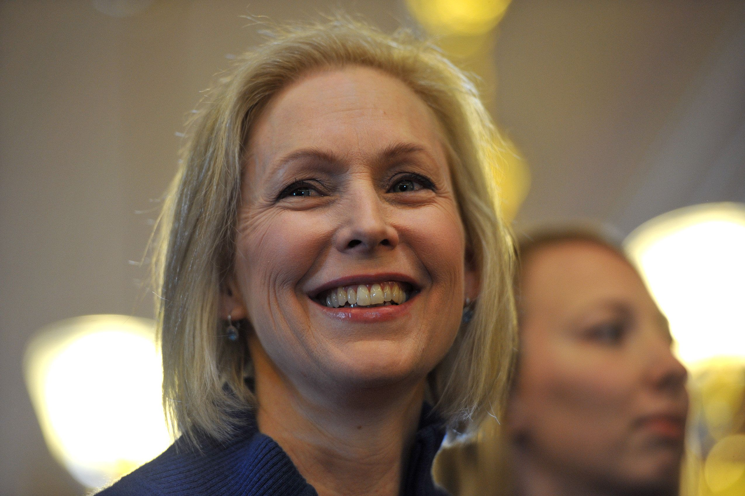 Sen. Kirsten Gillibrand (above) and Rep. Rosa DeLauro plan to reintroduce the Family and Medical Insurance Leave Act.