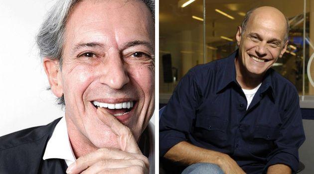 José Simão e Ricardo Boechat dividiram os microfones na BandNews FM durante 10