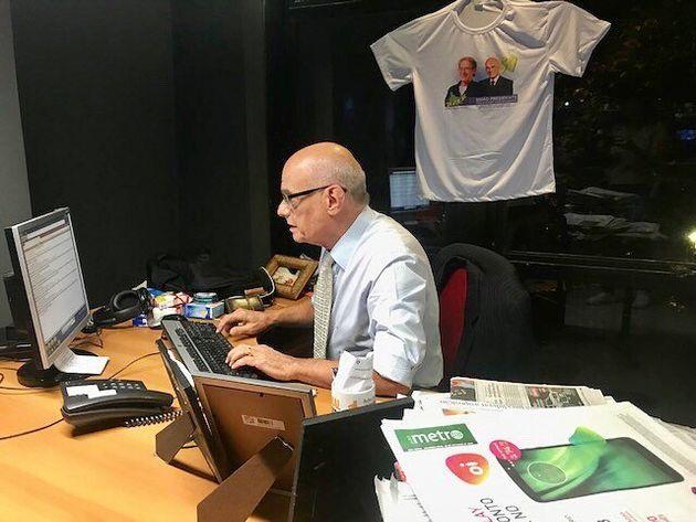 Ricardo Boechat era um ícone do rádio e do jornalismo