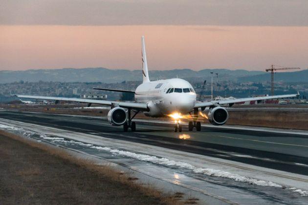 Απογείωση airbus από την Θεσσαλονίκη.