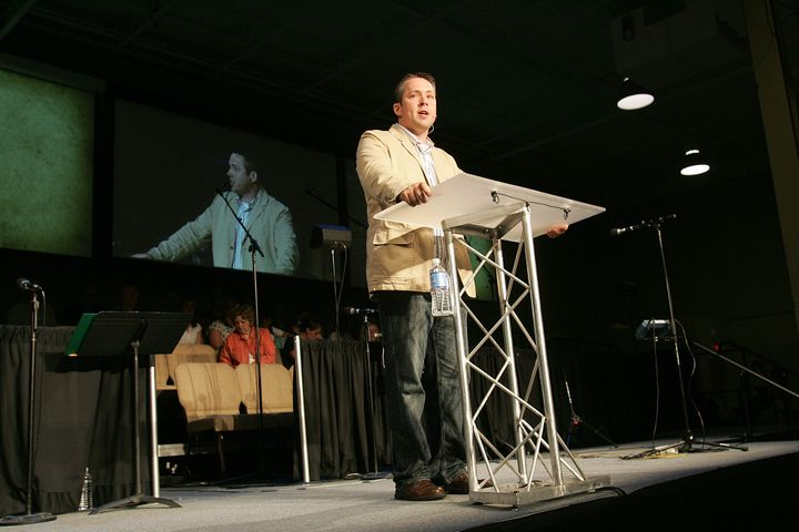 J.D. Greear, seen here in a 2008 photo, was elected Southern Baptist Convention president last June.