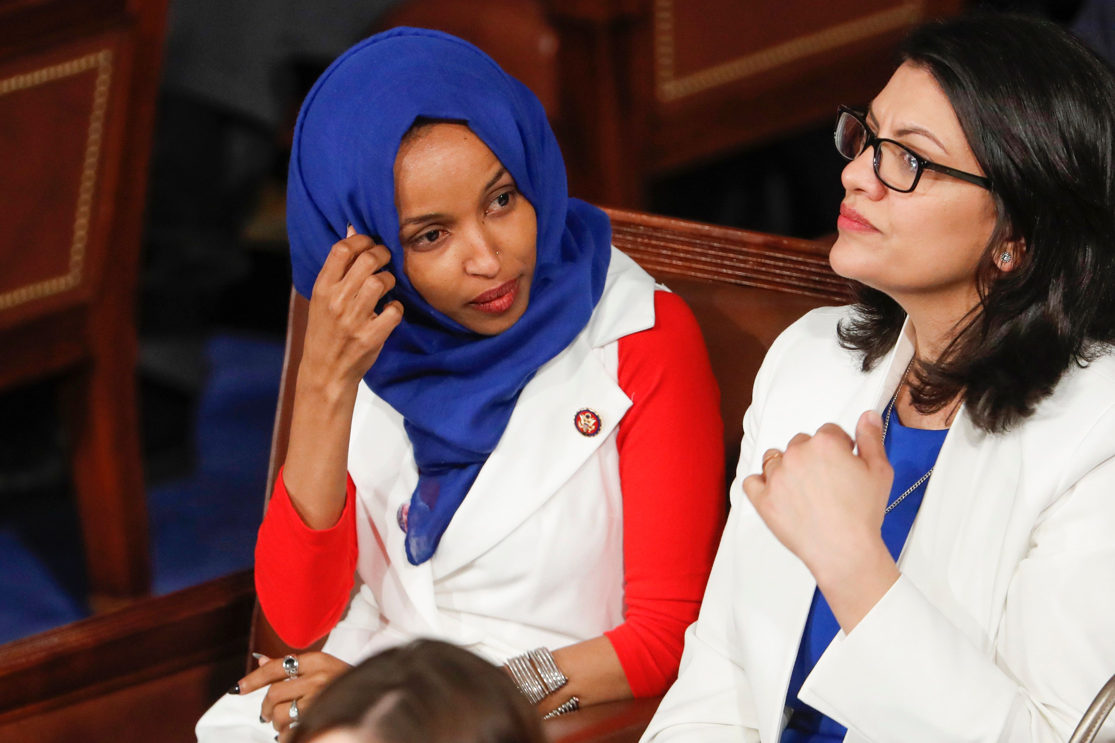 Donald Trump Criticizes Rep. Ilhan Omar For Tweets: 'She Should Be