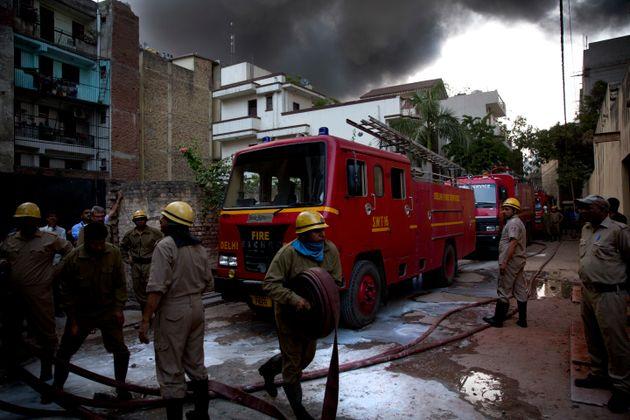 17 Dead In Massive Fire At Hotel In Delhi's Karol Bagh, Govt Orders