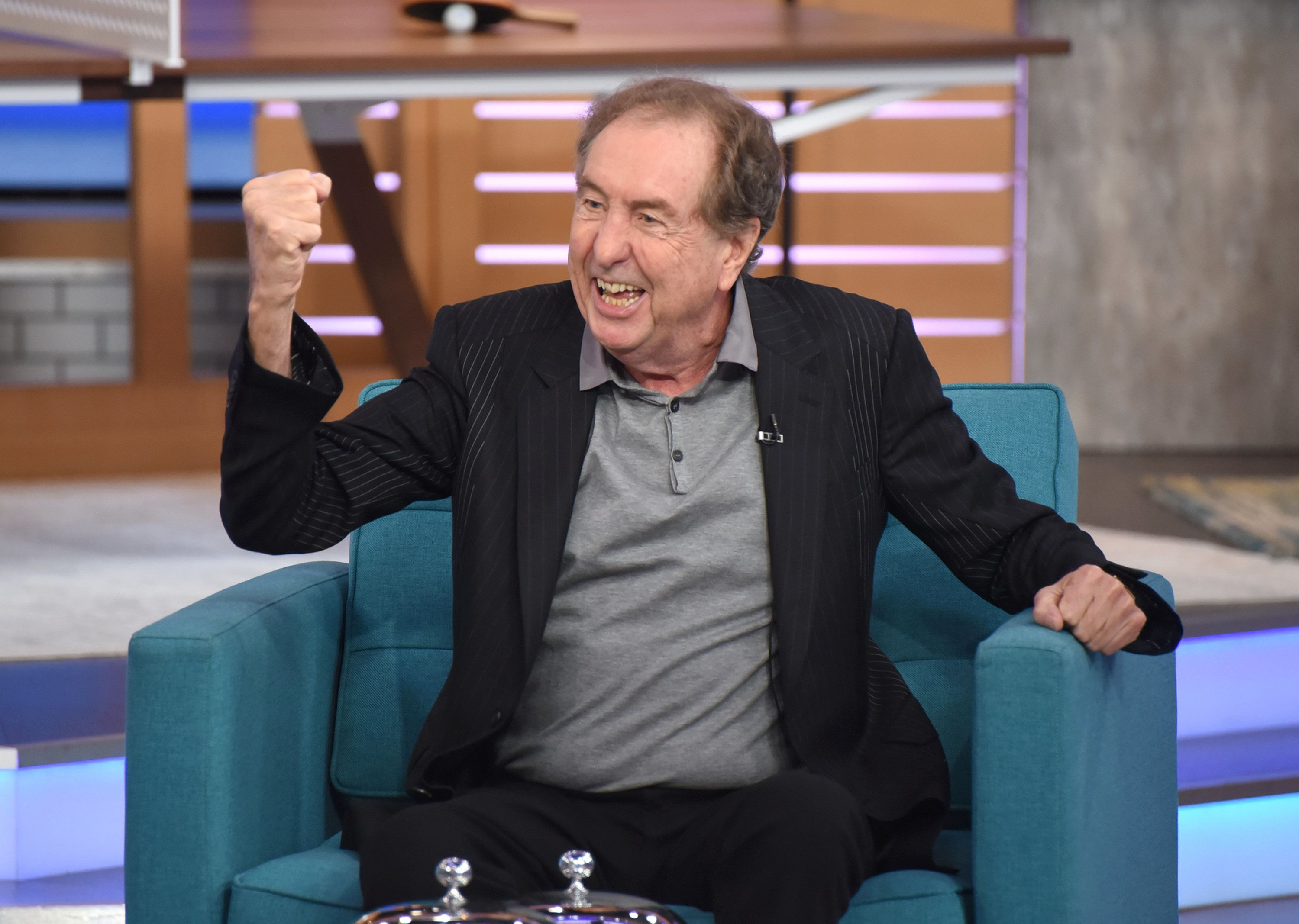 GMA DAY - Molly Shannon, Jennifer Holiday and Eric Idle are guests on 'GMA DAY,' Tuesday, October 2, 2018. 'GMA Day' airs Monday-Friday (1pm-2pm, ET) on the ABC Television Network.    GMADay18 (Photo by Paula Lobo/ABC via Getty Images)   ERIC IDLE