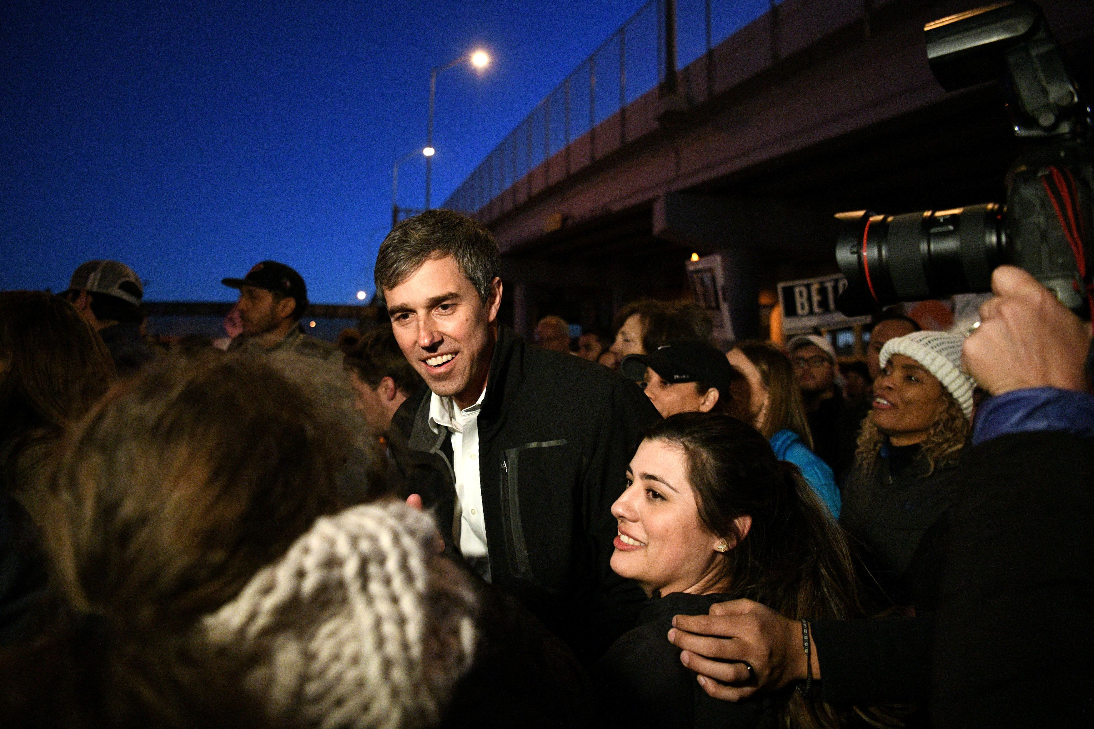 Beto O'Rourke Positions Himself As Direct Challenger To Trump: 'Walls End Lives'