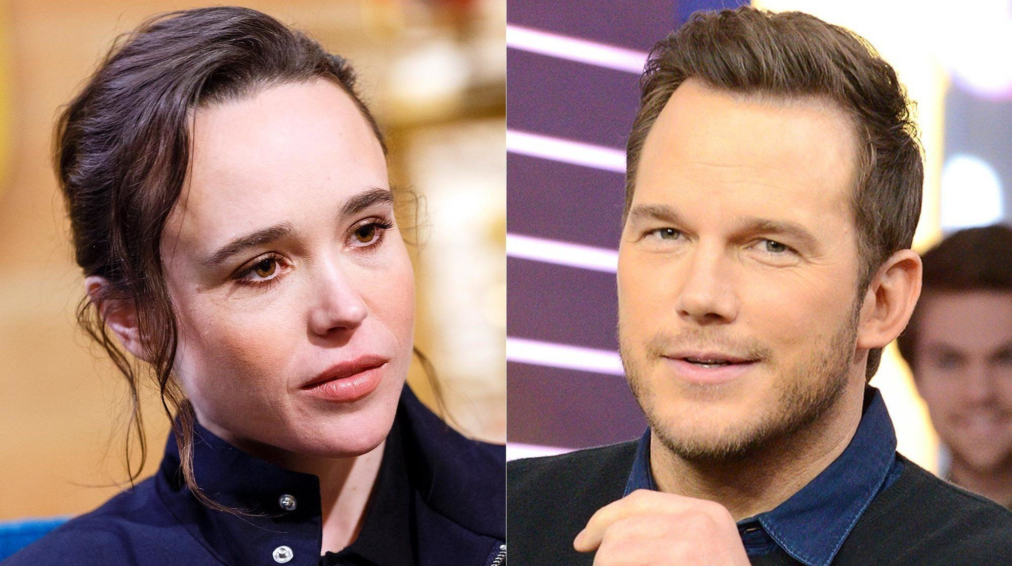 "Actress and activist Ellen Page is calling out fellow celebrity Chris Prattfor attending an ""infamously"" anti-LGBTQ church"
