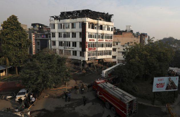 Ινδία: Τουλάχιστον 17 νεκροί από πυρκαγιά σε ξενοδοχείο στο Νέο