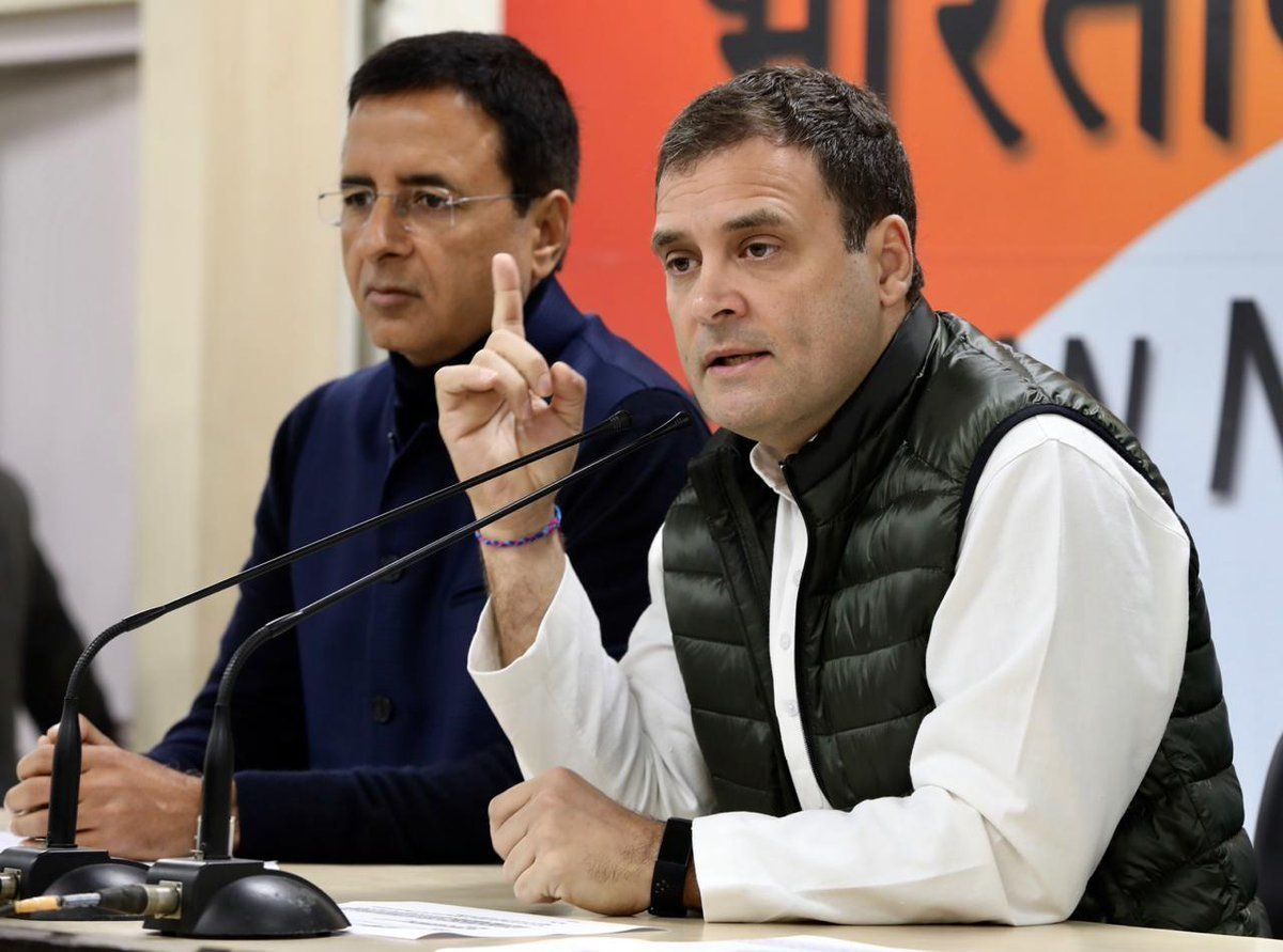 'This Is Treason': Rahul Says Modi Acted As Middleman For Anil Ambani in Rafale