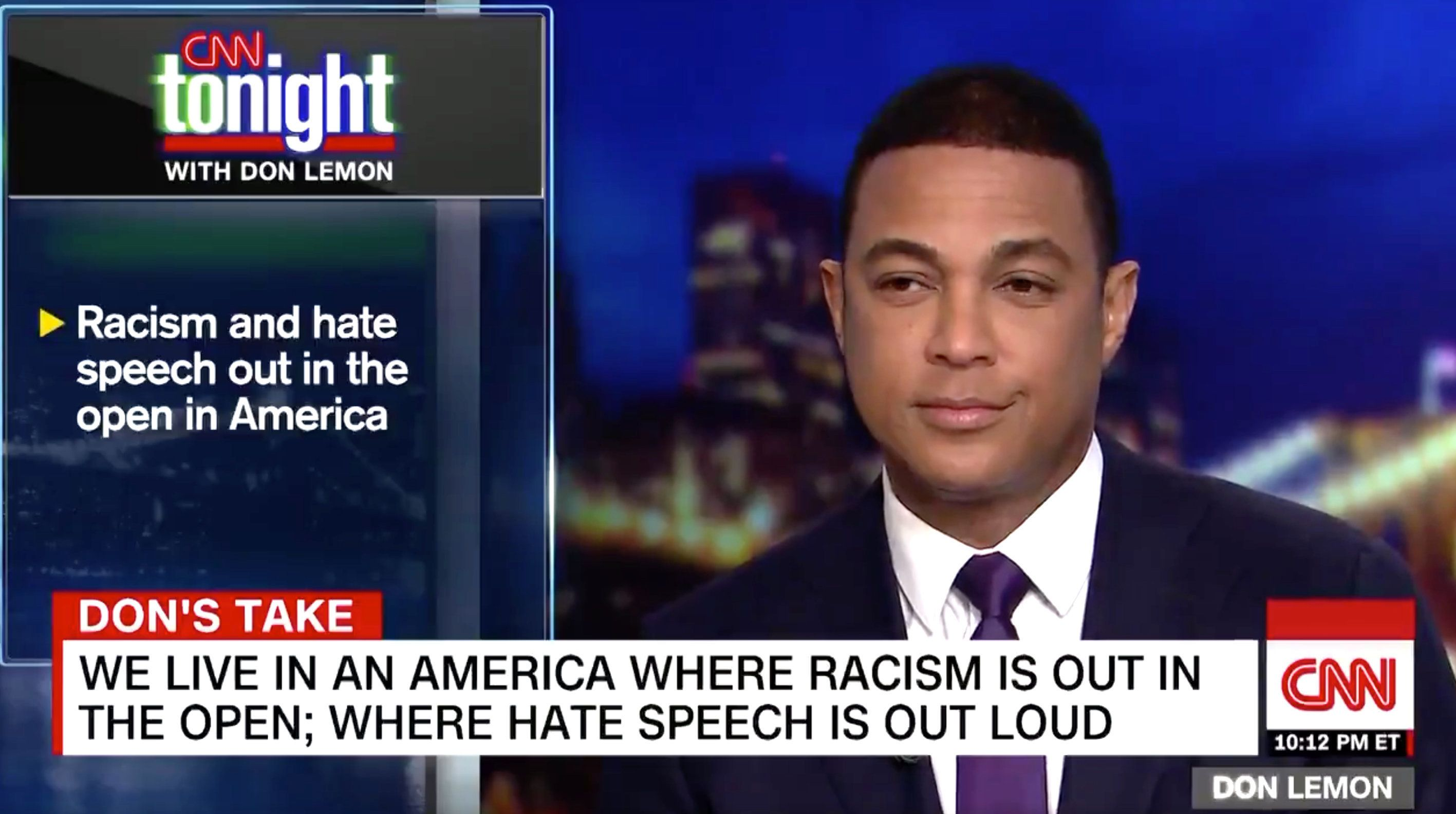 CNN's Don Lemon was at a loss for words after watching an interview in which embattled Virginia Gov. Ralph Northam said he hadn't been fully aware of his white privilege or why wearing blackface was problematic.