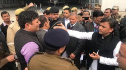 Akhilesh Yadav Says He Was Stopped At Lucknow Airport, Yogi Claims 'Law & Order'