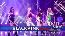 블랙핑크가 '레이트쇼'로 미국 방송에 데뷔했다