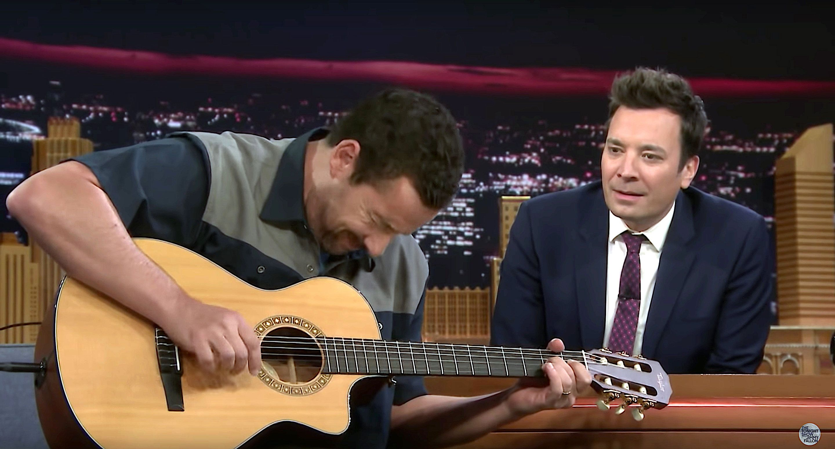 """Adam Sandler and Jimmy Fallon on """"The Tonight Show"""""""