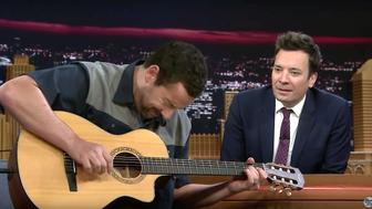 "Adam Sandler and Jimmy Fallon on ""The Tonight Show"""