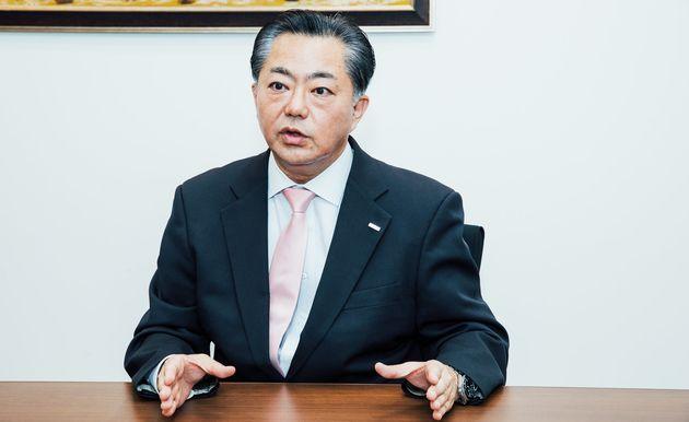モンゴル貿易開発銀行東京事務所長の内田肇さん