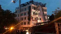 Delhi Hotel Fire: Emergency Exit Of Hotel Was Shut, Says Union