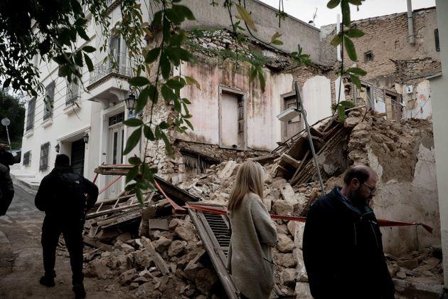 Κατάρρευση κτιρίου στην